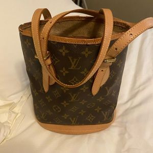 LV Vintage bucket bag pm authentic!  Make offer